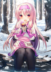 Sitonai Eating Delicious Yam