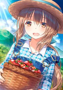 Anime Girl Farmer