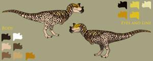 Path of Titans. Concept art idea. Ceratosaurus.