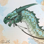 Fish smell wyvern by DredHo