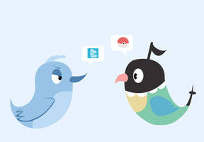 twitter doesnt like chatot by knez-iole