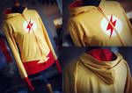 YOUNG JUSTICE: kid flash hoodie