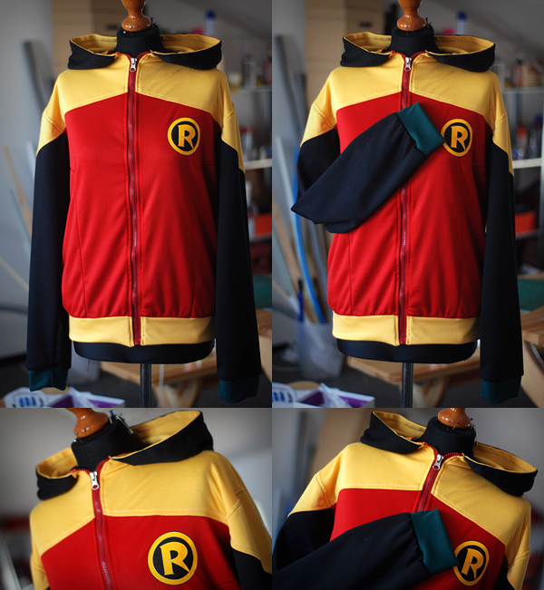 BATMAN AND ROBIN: damian wayne hoodie by envylicious