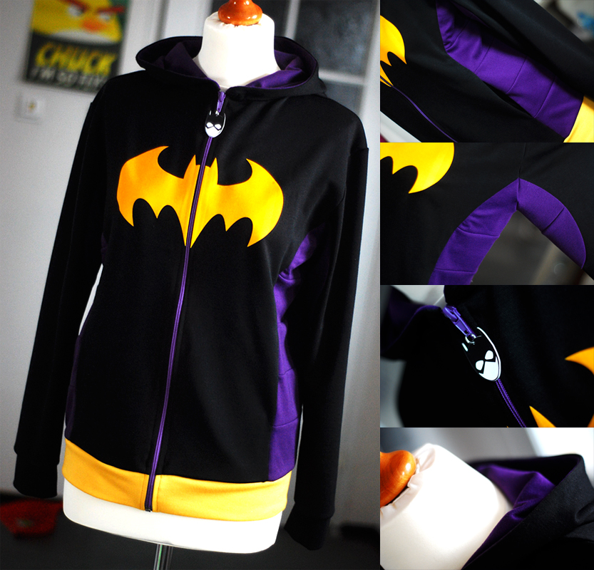 BATGIRL: stephanie brown hoodie by envylicious