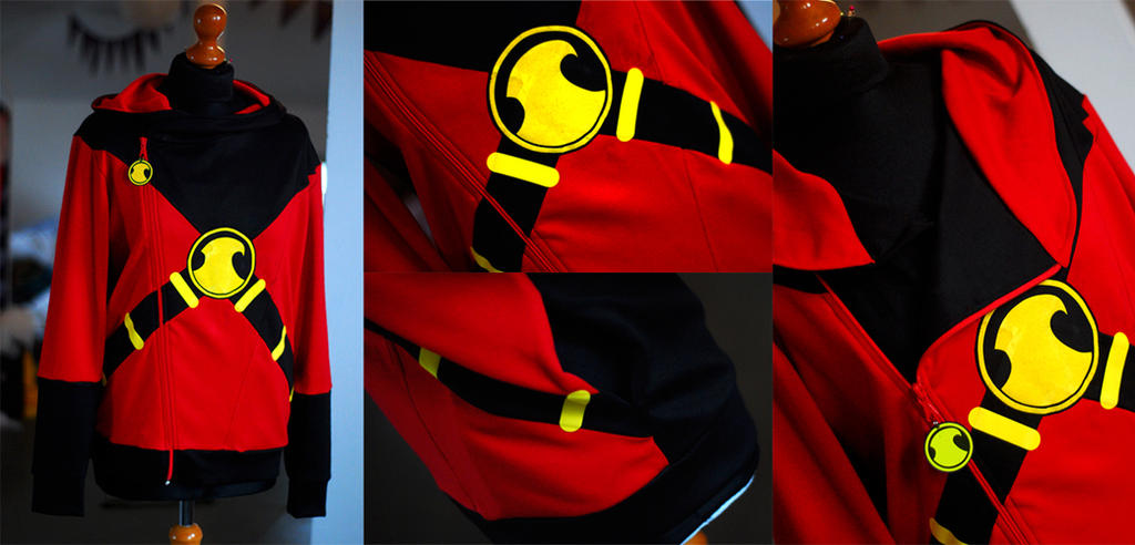 RED ROBIN: tim drake hoodie by envylicious on DeviantArt
