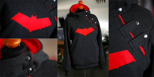 RED HOOD: jason todd hoodie by envylicious