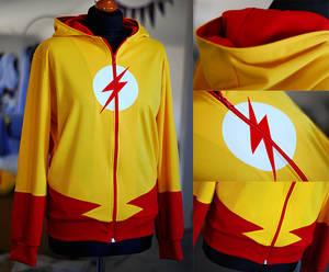 YOUNG JUSTICE: kid flash hoodie (2.0)