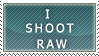 I Shoot Raw Stamp by Echosyp