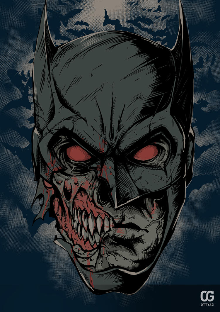 Zombie Batman Comic Zombie Batman by Baker...