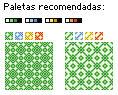 Tiles de baldosa estilo GBC / GBC Floor tiles