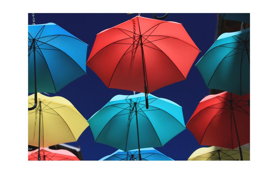 Un petit coin de parapluie by amiejo