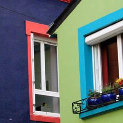 Village aux 100 couleurs