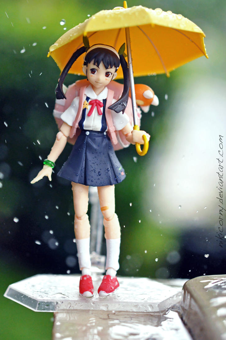 Playing in The Rain by nikicorny