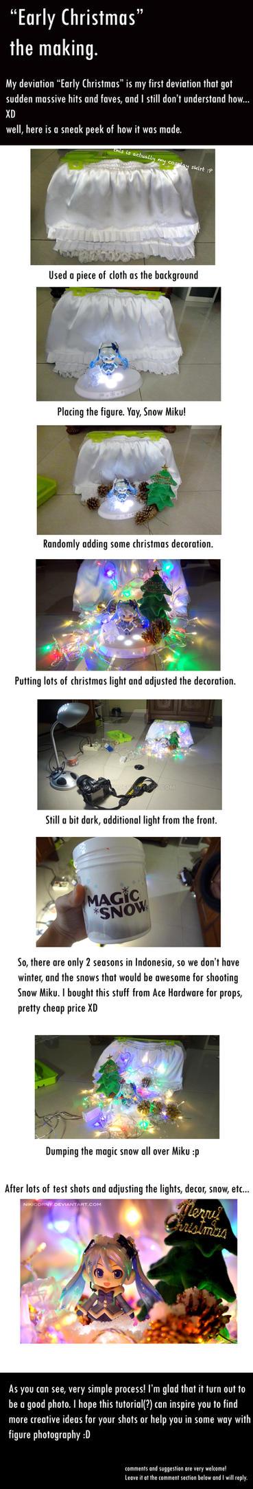 Early Christmas set up by nikicorny