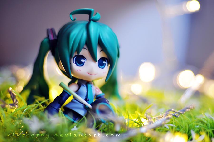 fireflies garden by nikicorny