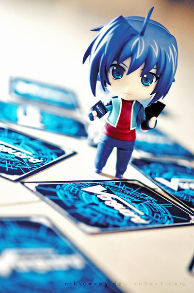 Cardfighter by nikicorny
