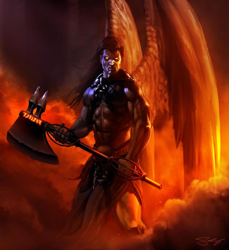 Fallen Angel by JonathanGragg