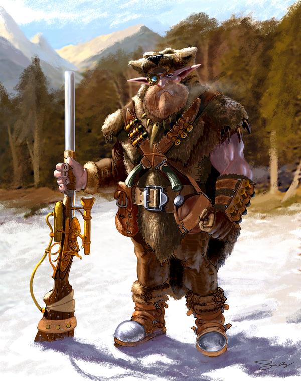 Rampel the Hunter by JonathanGragg