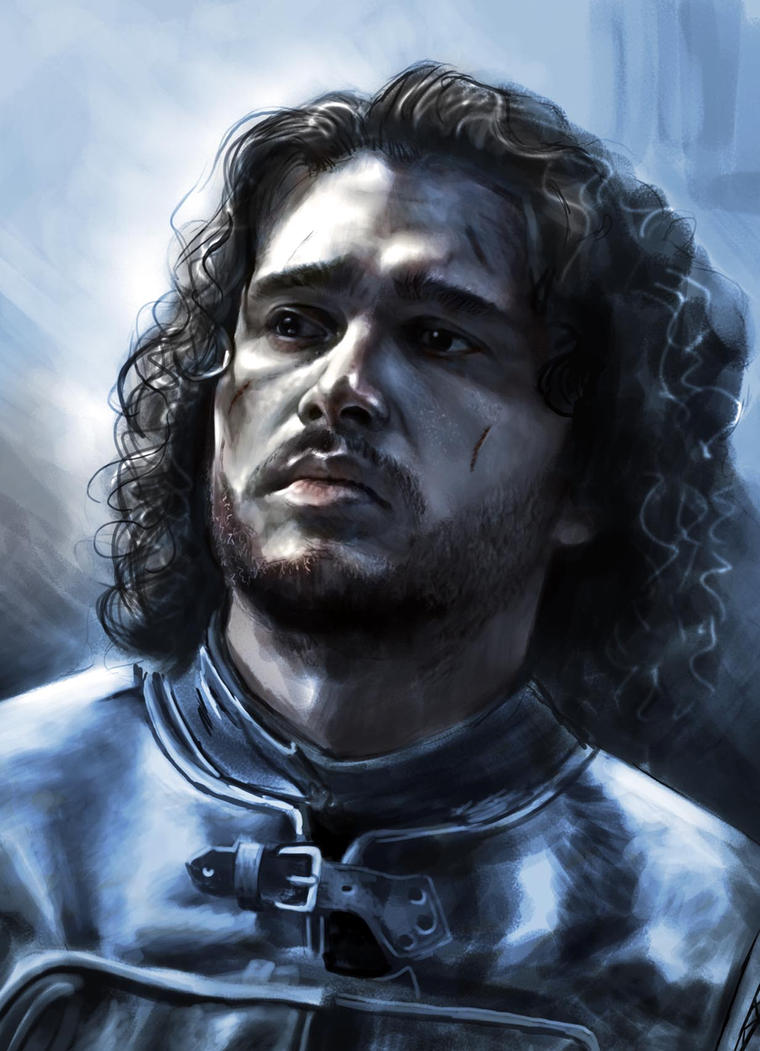 Jon Snow WIP by JonathanGragg