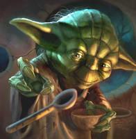 Yoda by JonathanGragg