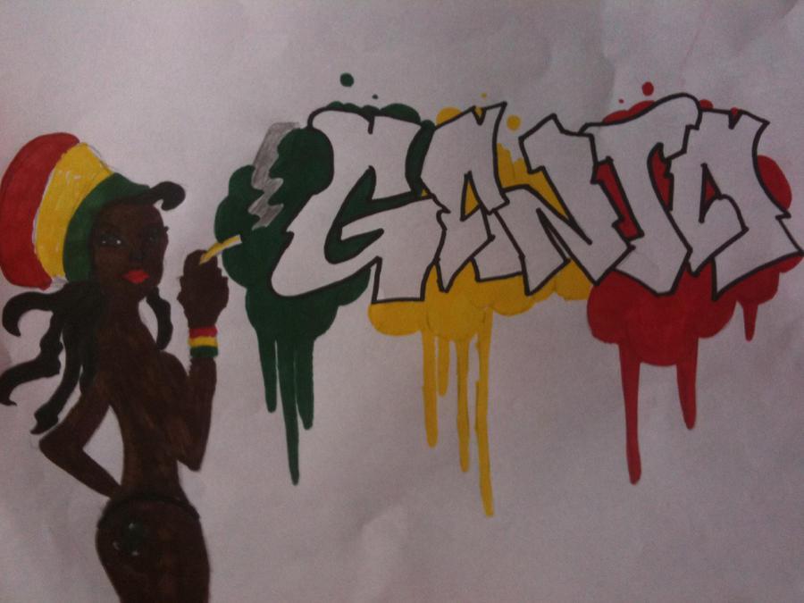 Ganja Graffiti by CrossxD on DeviantArt