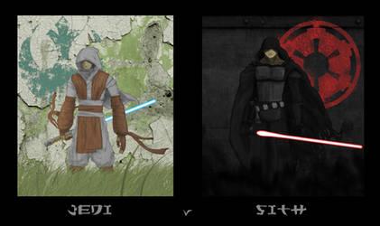 Jedi v Sith by Deezer509