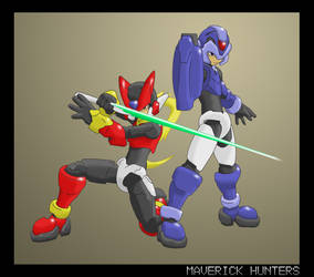 X and Zero - Maverick Hunters