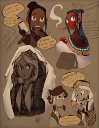 Sketchadoodle Travels by SailorX2