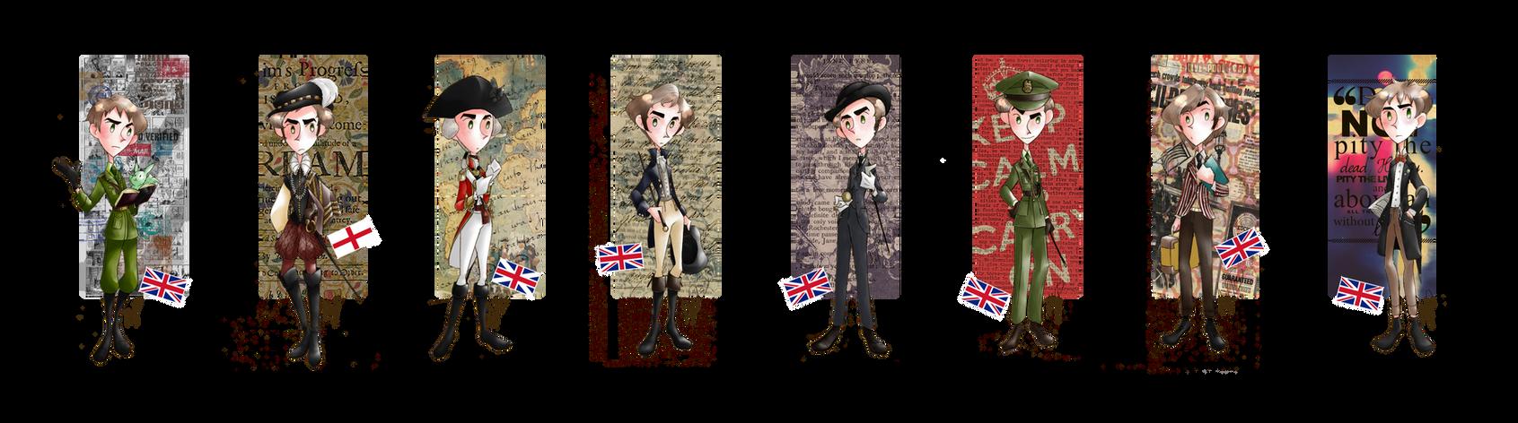 Fashion History - England