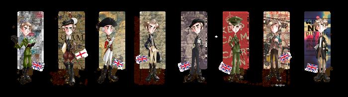 Fashion History - England by SailorX2