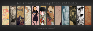 An Artistic Journey Through 2015 by SailorX2
