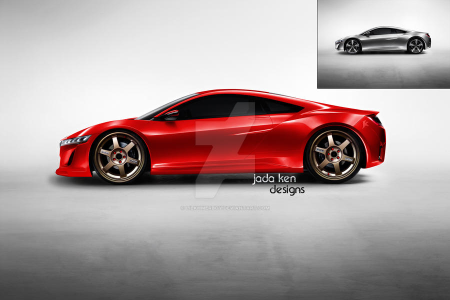 NSX Concept by lilkhmerboy