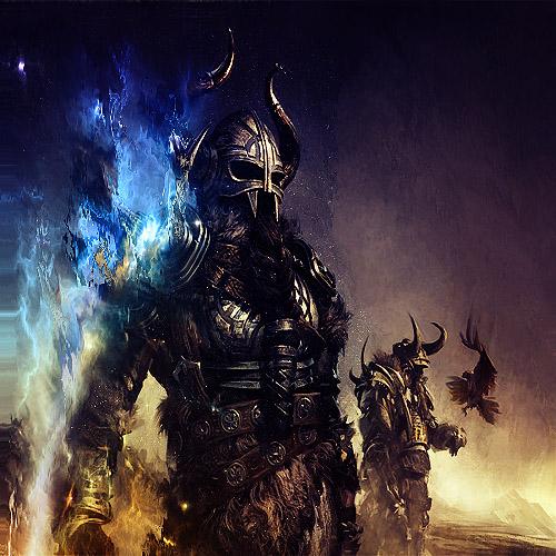 Viking Warrior by Blizzardss