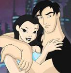 Terry and Dana - Batman Beyond