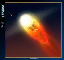 Leonov 6: Aerobrake Fireball by RobCaswell