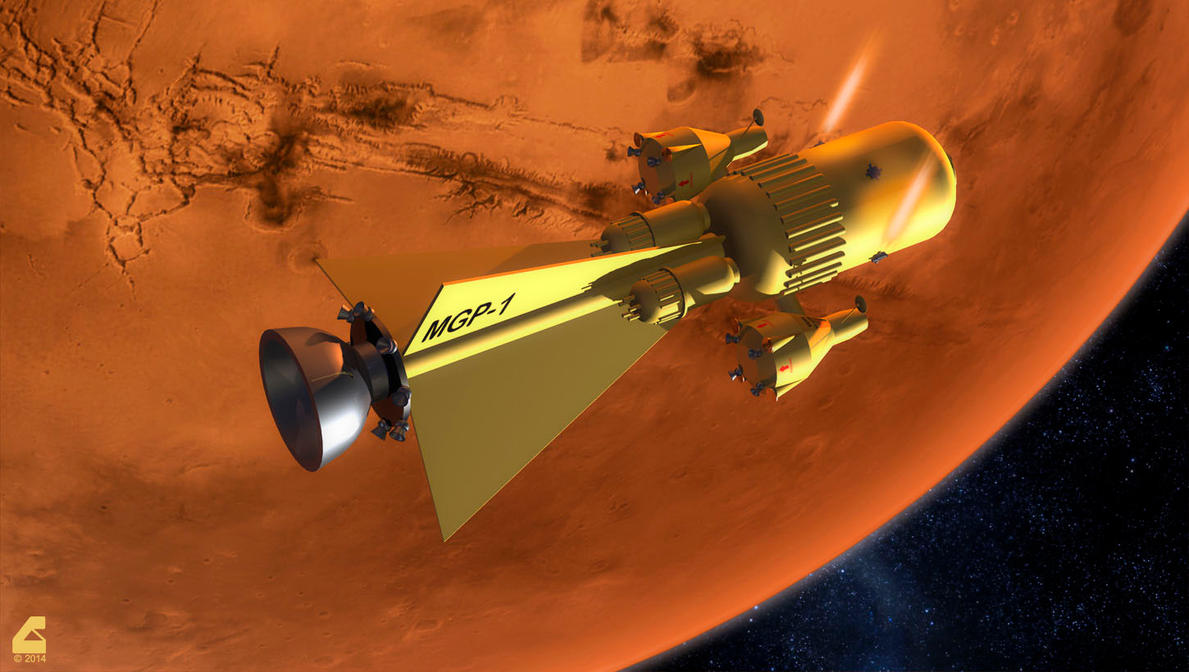 Mars Gravity Probe 1 by RobCaswell