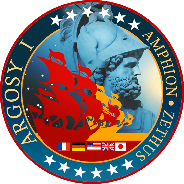 Argosy 1 Mission Patch by Rob-Caswell
