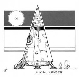 Jinxian Lander (Ringworld) by RobCaswell