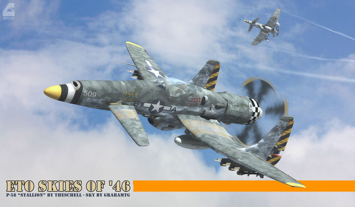 Skies of '46 by RobCaswell