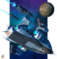 Task Force at Callisto by RobCaswell