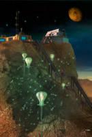 Sky Lanterns of Pakallus II by RobCaswell