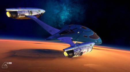 Yachting over Mars