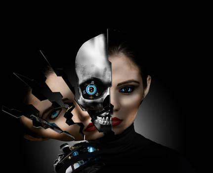 Cybernetic woman