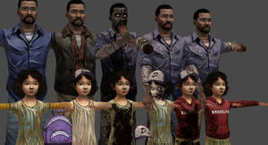 TWD Lee and Clem (XPS)