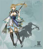 Wang Yuanji_Dynasty Warrior 7 by Draven4157