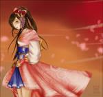 Oichi in Samurai Warriors 3