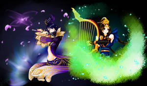 DW7]Zhen Ji and Cai Wenji(contest) by Draven4157