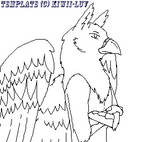 Male Anthro Gryphon Template