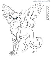 Gryphon Template by Kiwii-Luv
