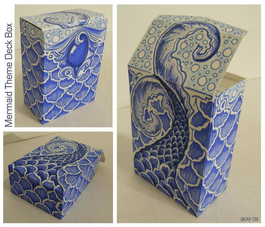 Mermaid Deck Box by sadiekate
